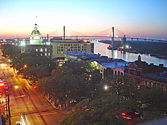Savannah Ga Rooftop View