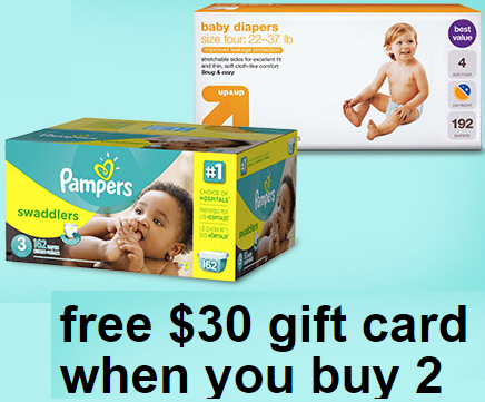 Up/&Up Diapers Bulk Plus Pack