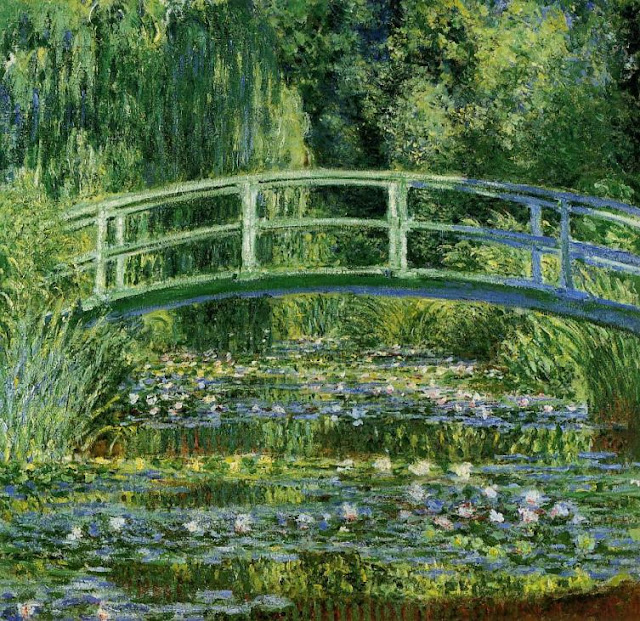 Painting the Modern Garden Monet to Matisse, Water Lilies and Japanese Bridge (1897-1899)