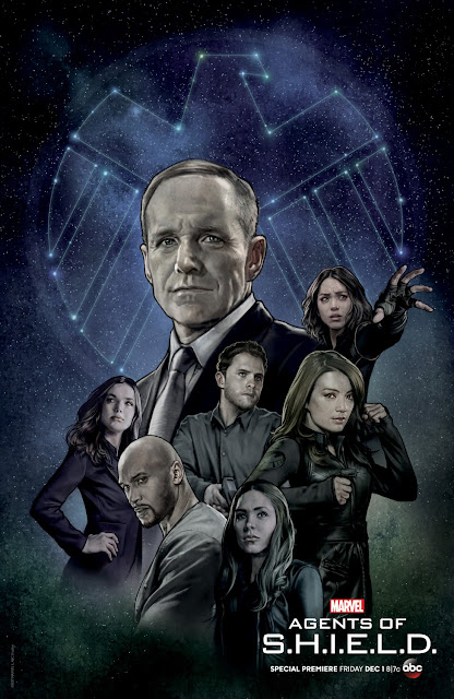 New York Comic Con 2017 Exclusive Marvel's Agents of SHIELD Season 5 Television Series Poster