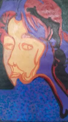 O Super feminino, desenho cego, de De Castro Pinto