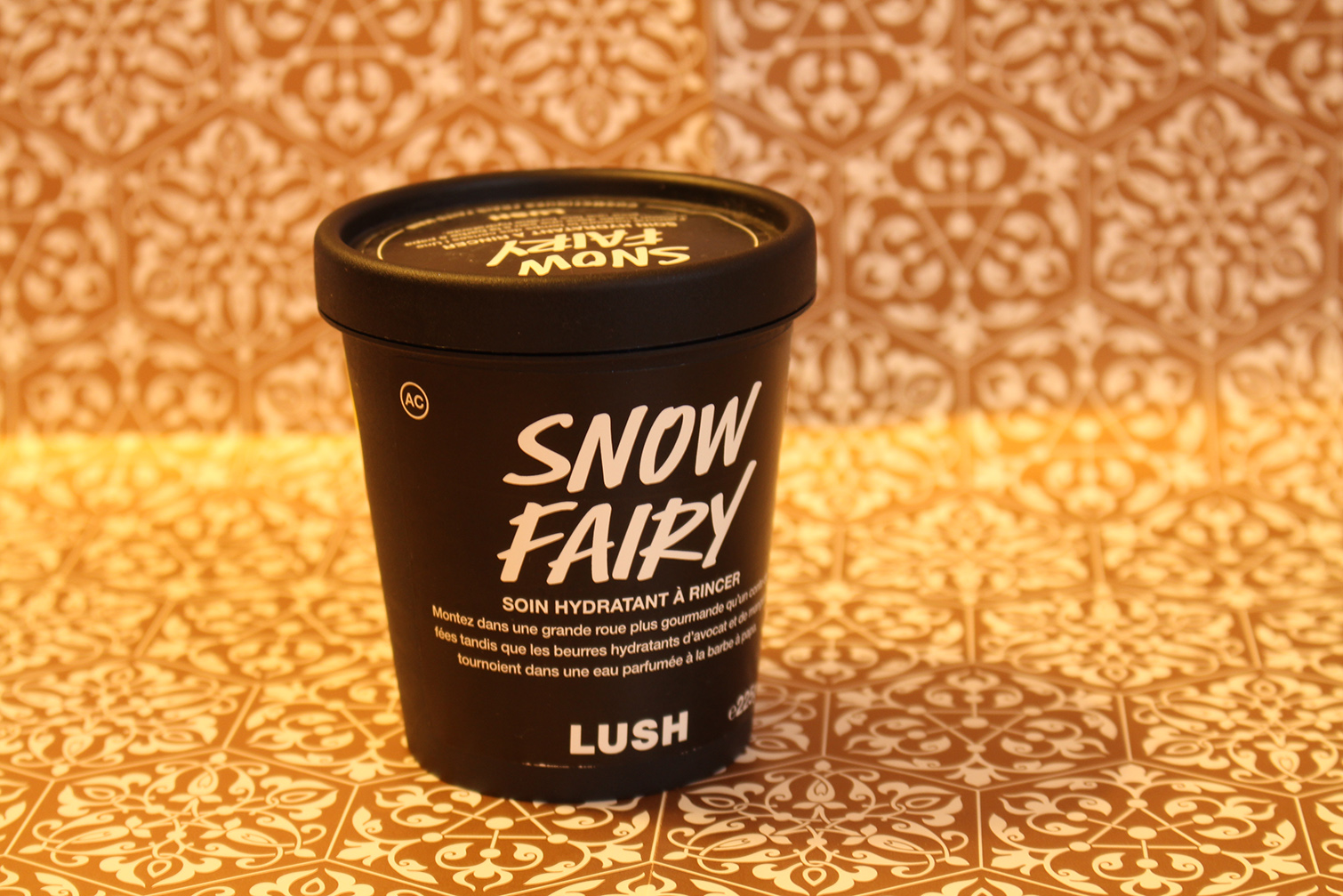 Snow Fairy, l'hydratant coprs bubble gum