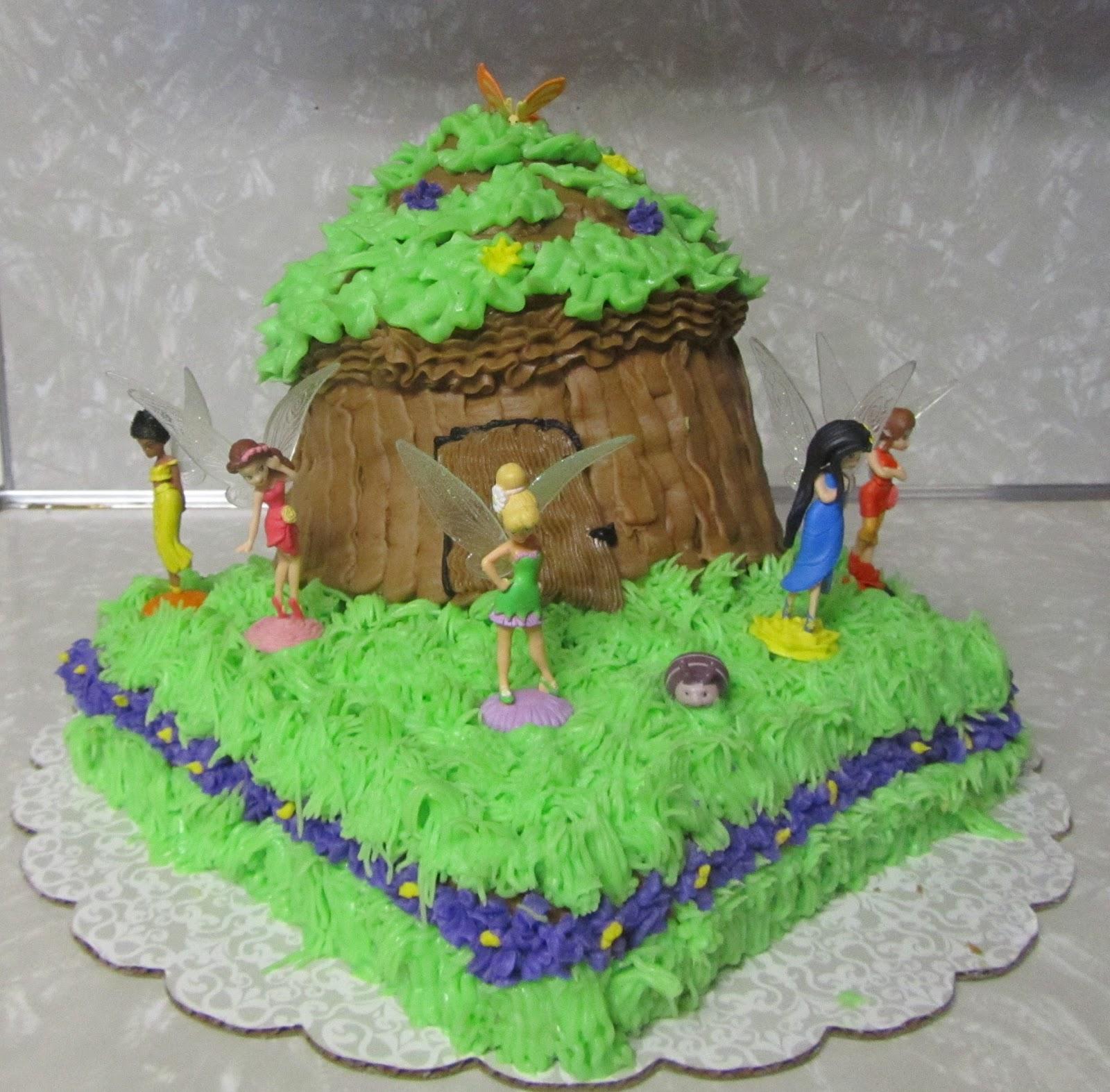 Dksquared Tinkerbell Cake