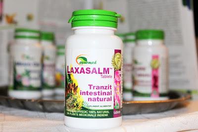 Laxasalm, laxativ ayurvedic din plante. Testare