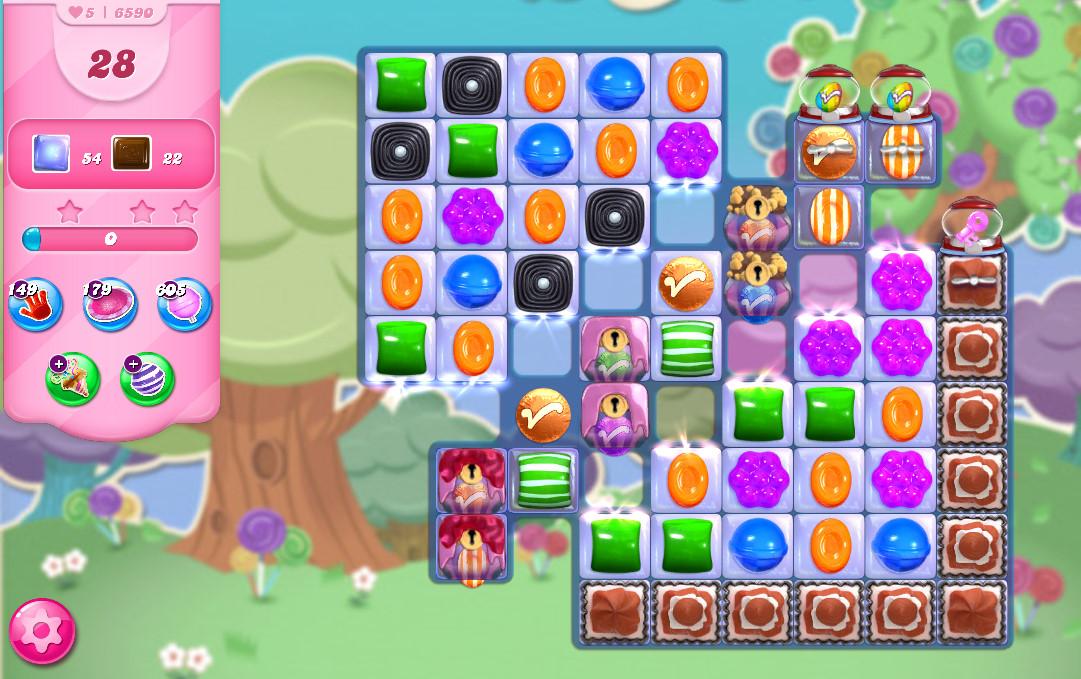 Candy Crush Saga level 6590