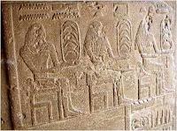 مقبرة من الاسرة السادسة من عهد الملك بيبى وفيها شهور السنة المصرية