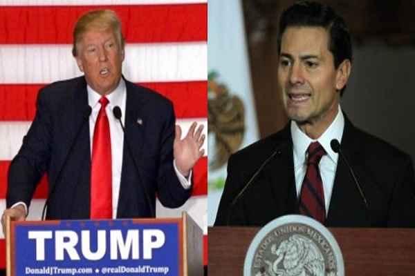 अमेरिका मेक्सिको के बीच दीवार बनने पर मेक्सिको नहीं करेगा दीवार के खर्च का भुगतान