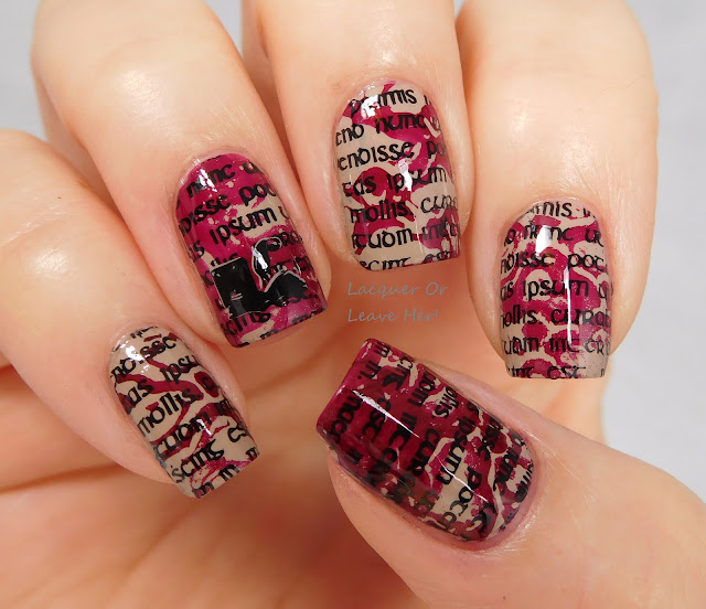 Deco Writer: Zoya Noah + Messy Mansion stencil kit and MM24
