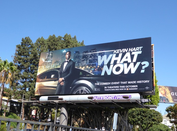 What Now movie billboard