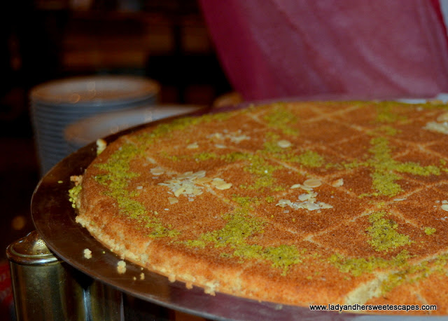 kunafa at Dusit Thani