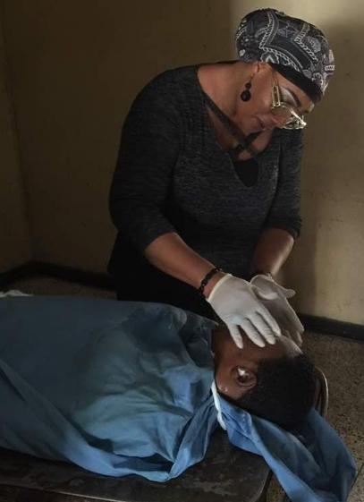 eucharia anunobi praying son corpse mortuary