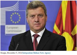 ο πρόεδρος της ΠΓΔΜ Γκιόρκι Ιβάνοφ