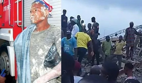 All Trapped In Ibadan Collapsed Building Have Been Rescued