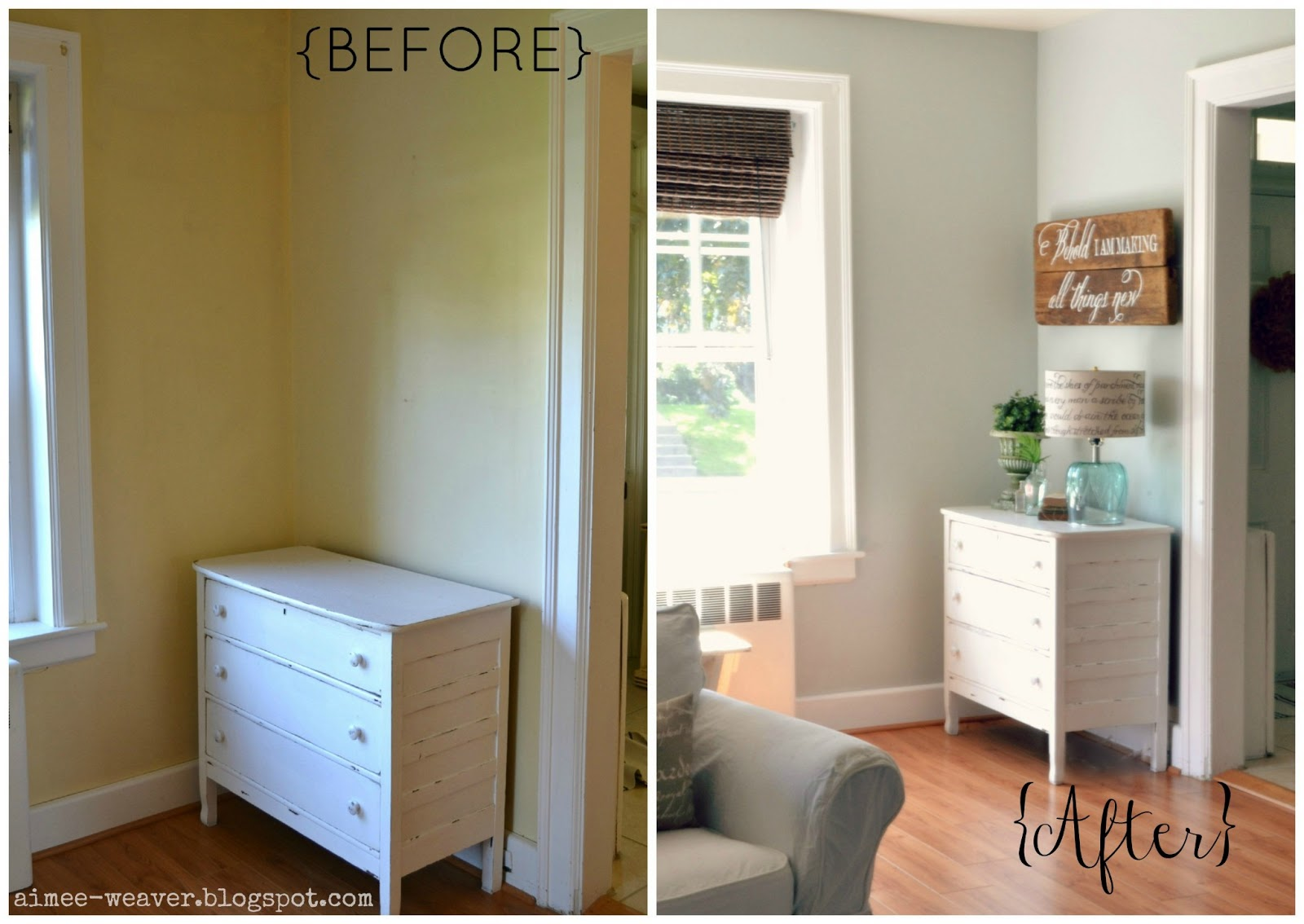 My *PINK* Life: Family Room Wall Color