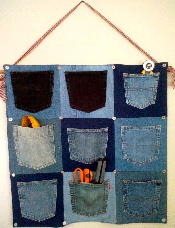 Что можно сшить из джинсов? Sewing of old jeans