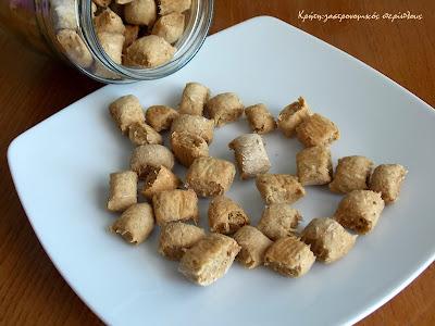 Κρίθινες (κριθαρένιες)  μπουκίτσες : τα croutons αλά κρητικά!