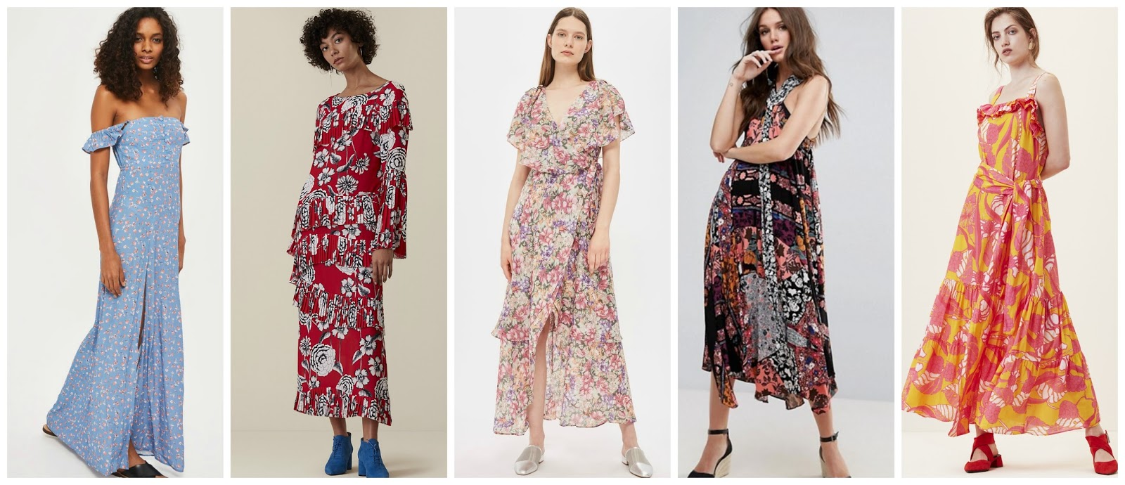 On Bardot Dress Flynn Skye Lotus Fl Finery Garden Wrap Top Asos Maxi London