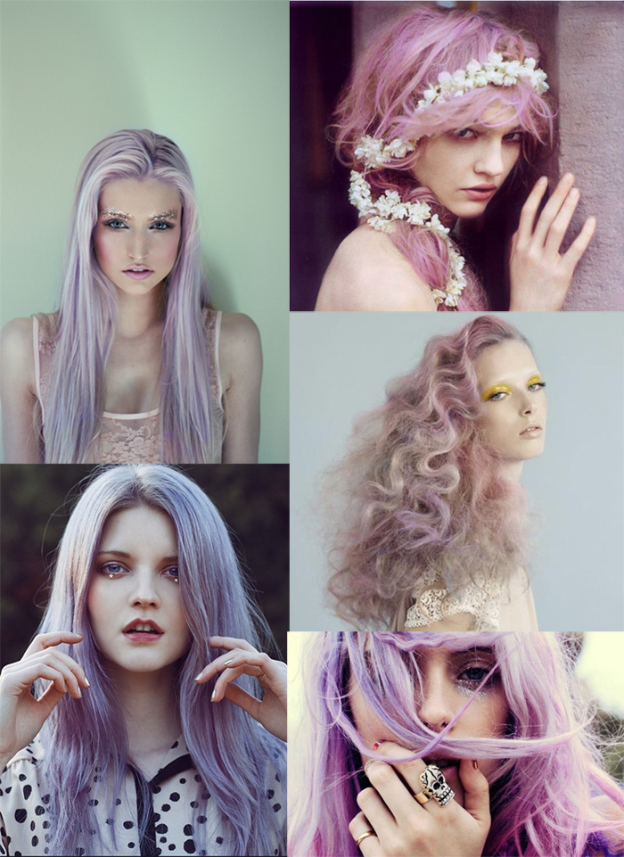 Pastel Hair Dyes, Lilac Hair Colors, Violets Hair, Lights ...