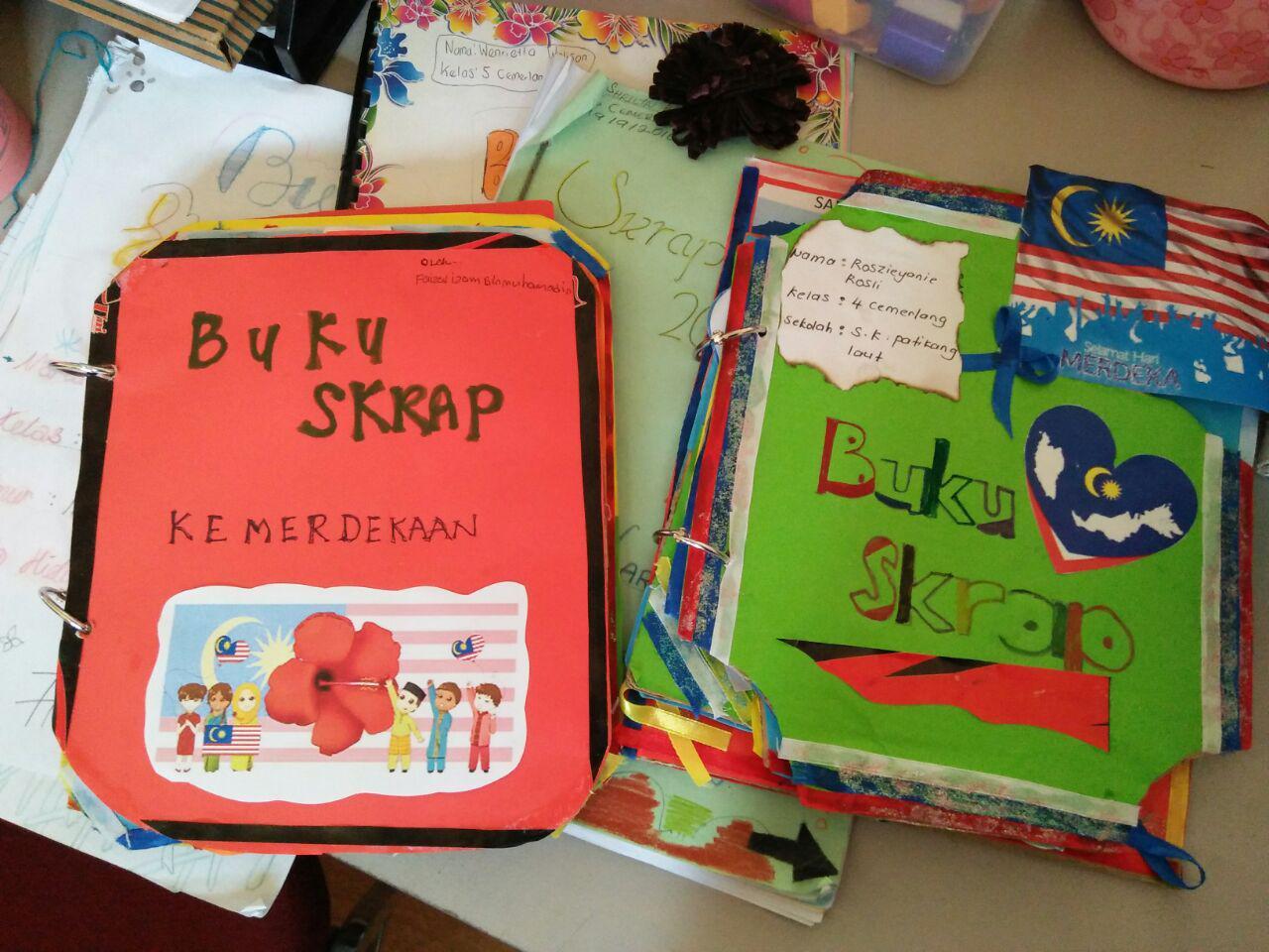 Buku Skrap Merdeka Cute766