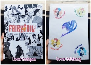 DIY Notebook Cover (Anime)