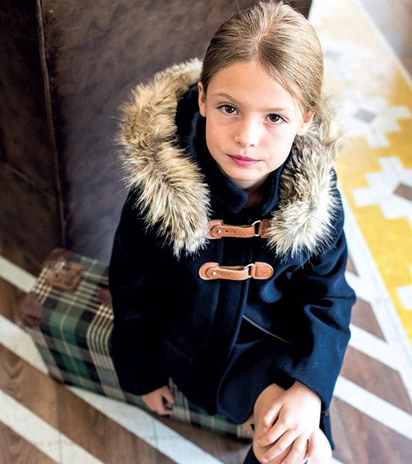 Sacos y tapados otoño invierno 2018 ropa para niñas. Tapados 2018 niñas. Moda invierno 2018.