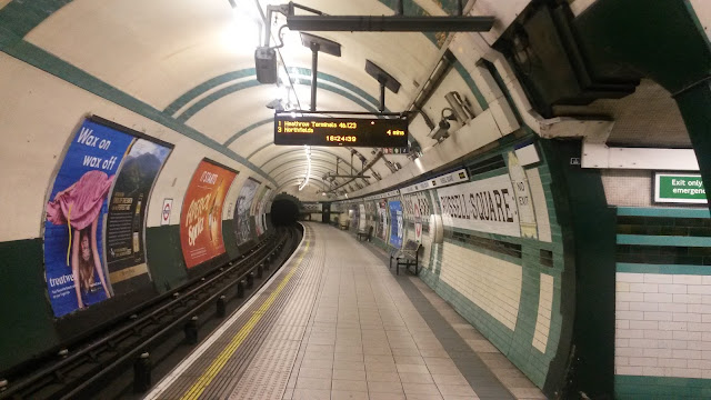 10 things to do in London, underground, russell square station