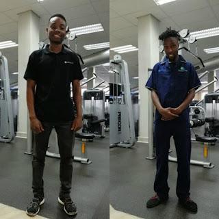 Brandon Murigagumbo and Karabo Thosago.