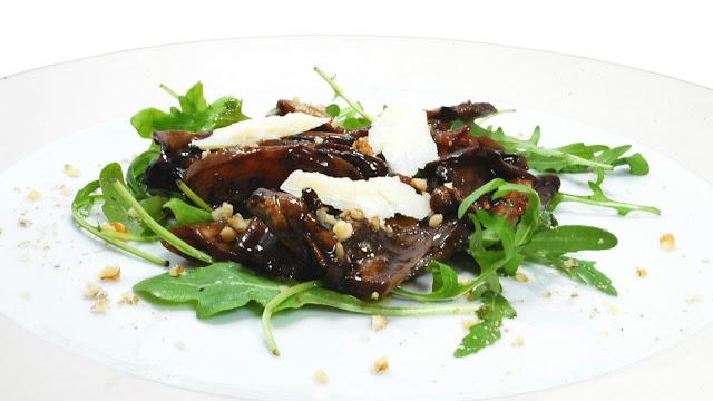 melanzane alla griglia marinate al balsamico