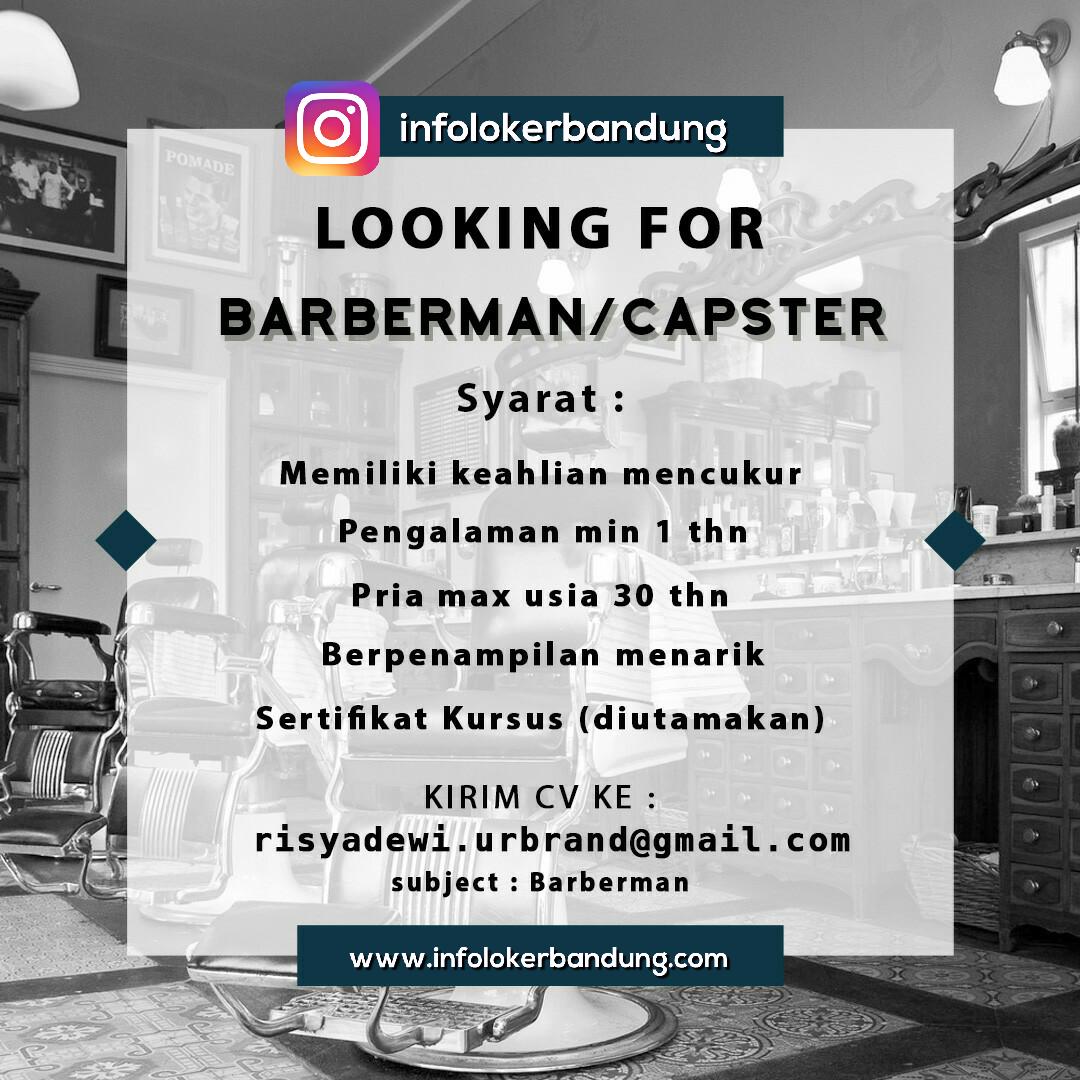 Lowongan Kerja Dignity Barbershop Bandung April 2017