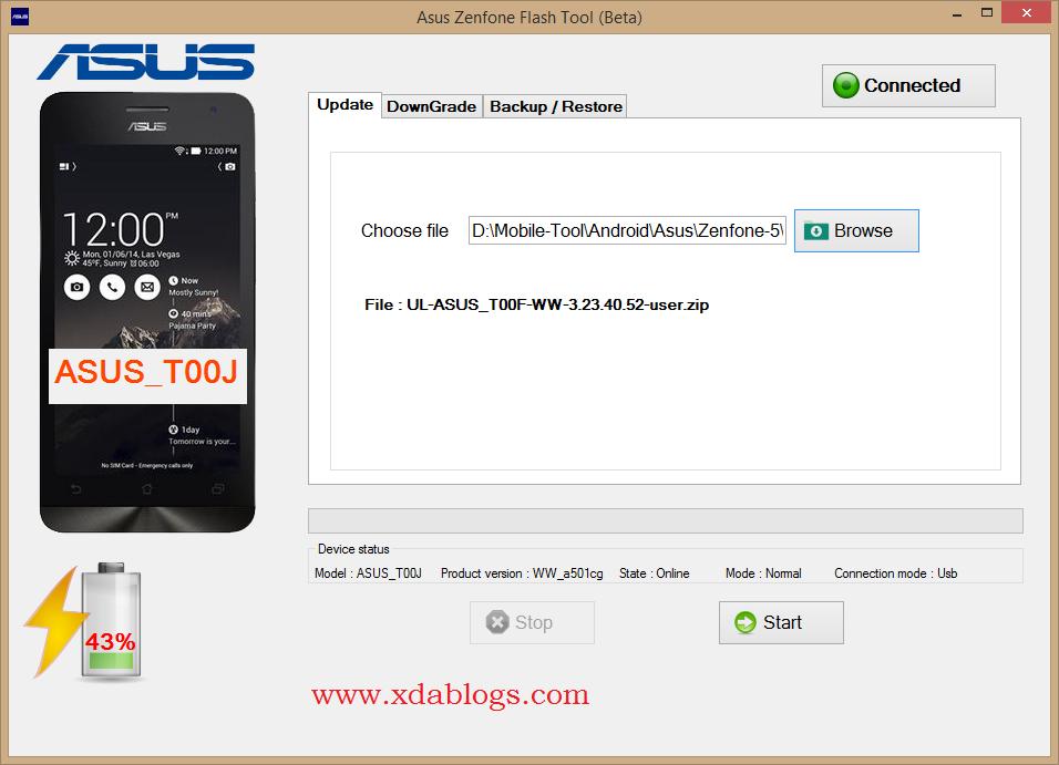 Asus Zenfone Flash Tool v2 0 1 (Updated) - OLd EDA Blogs