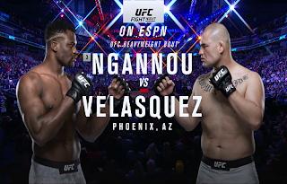 UFC Fight Night Biss Key Eutelsat 7A/7B 18 February 2019