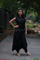 Actress Yamini Bhaskar in a Tight Black Sleeveless Dress ~  Exclusive 47.JPG