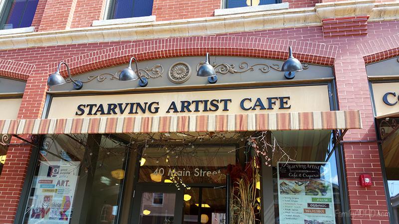 Berkshires Family Travel Guide Starving Artist Cafe