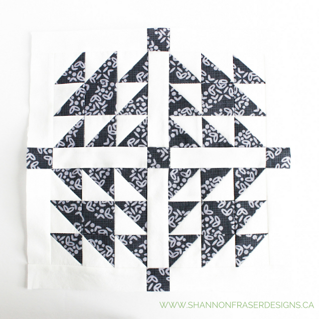Doves in the Daylight | January Quilter's Planner Blocks | Shannon Fraser Designs | Modern Quilting | Free Quilting Block Patterns