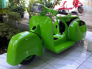 Aliran Modifikasi Vespa Low