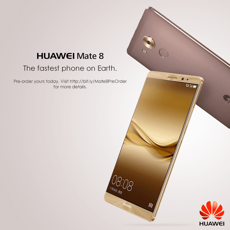 Huawei Mate 8 pre order Philippines