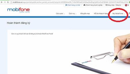 Hướng dẫn cách đăng ký tài khoản Mobifone Portal