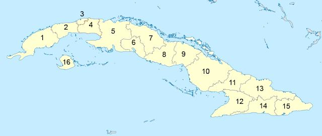Gambar Peta Negara Kuba, peta kuba, peta wilayah negara kuba