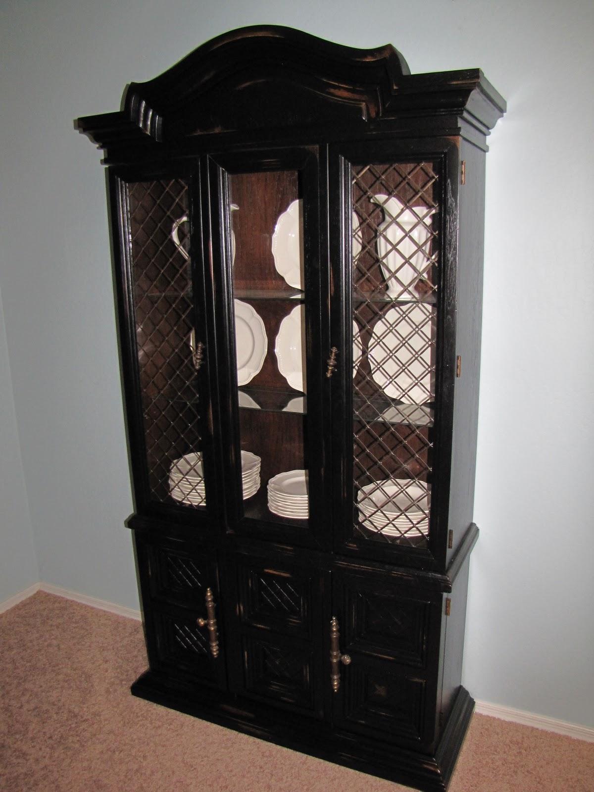 Restoration Furniture Rustic China Hutch