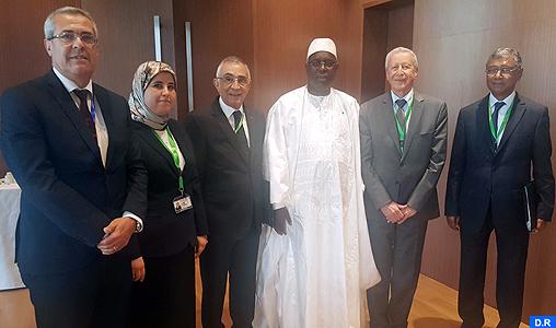 الرئيس السنغالي يستقبل بدكار السيدين عزيمان وبلمختار