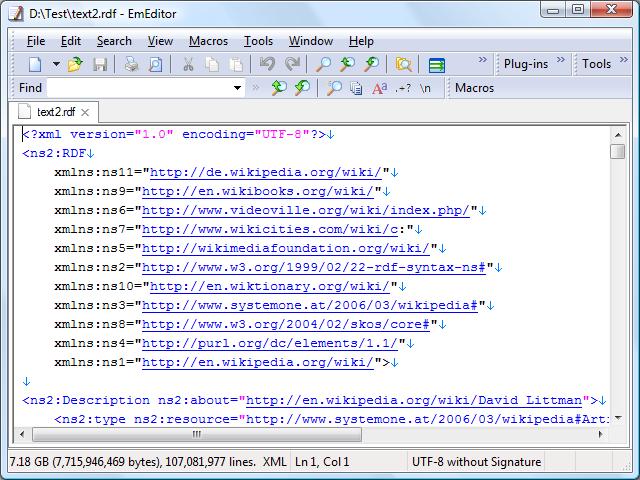 EmEditor 13 Full- Phần mềm mở file dung lượng lớn mượt mà
