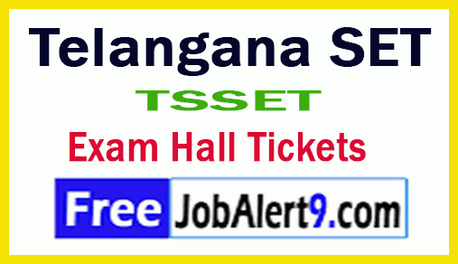 Telangana SET Hall Ticket Download
