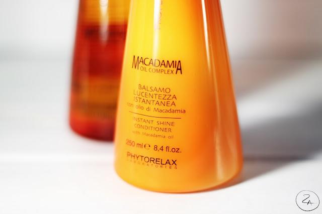 Phytorelax Laboratories Macadamia Oil Complex līnijas Instant Shine kondicionieris