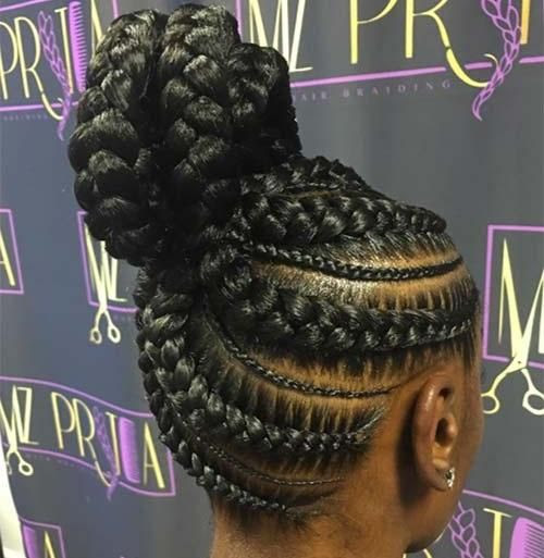 Braids Inspiration: Must See Creative Goddess Braid Styles
