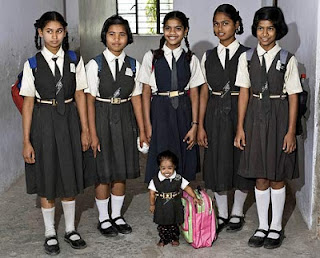 School Photo Of World's Shortest Woman 'Jyoti Amge'