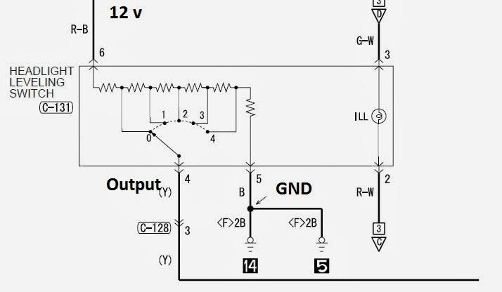 Manual Headlight Leveling | Inspira  Lancer Mod Guide