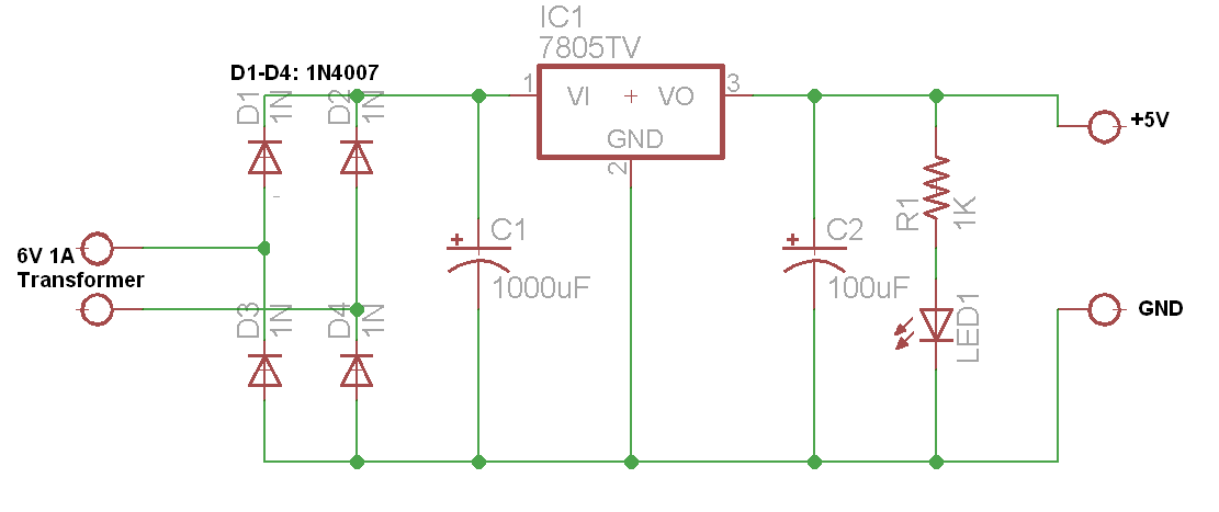 5v Power Supply Circuit