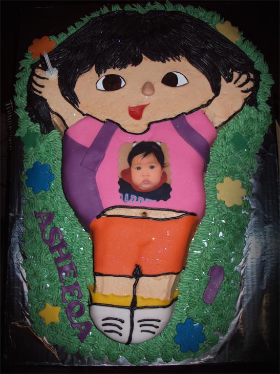 Delana S Cakes Dora The Explorer Cake