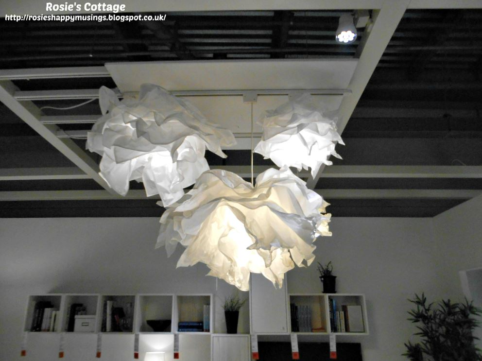 very beautiful pendant lights in one of the living room displays