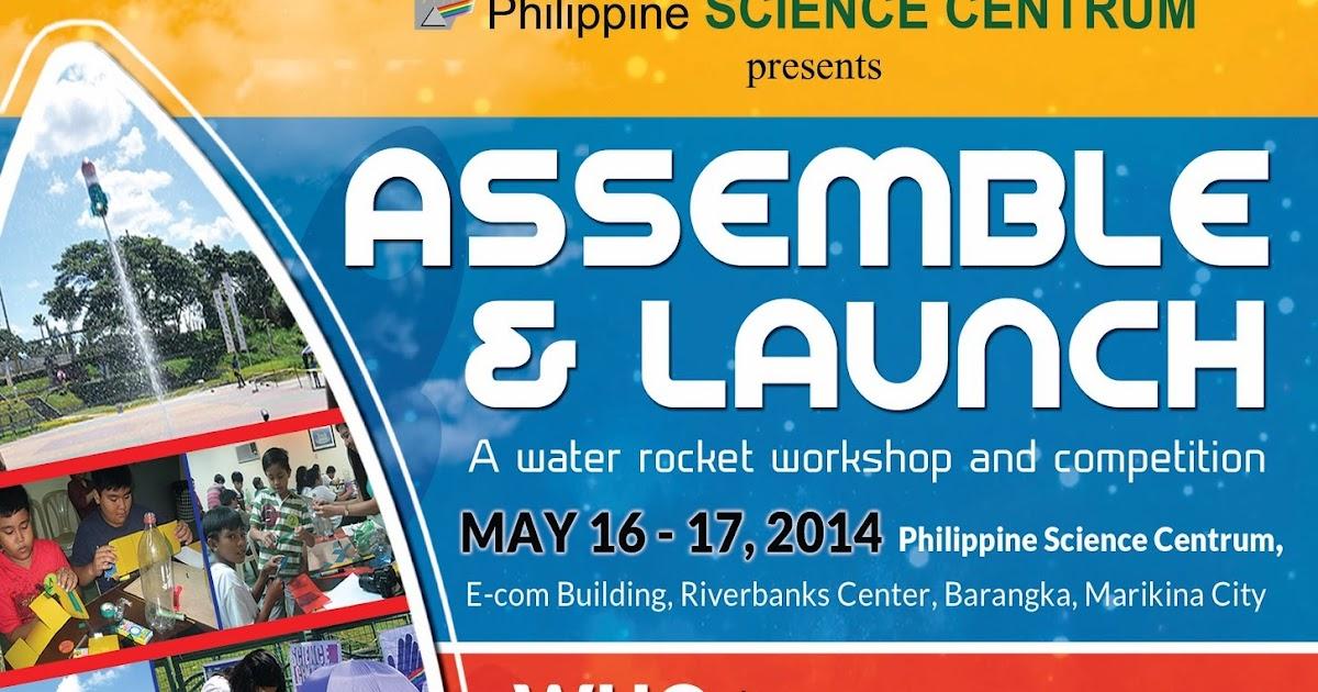 The Binondo Mommy: Assemble & Launch: A Water Rocket